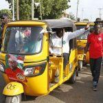 Mr. Beautiful spotted escorting Mahama at campaign rally
