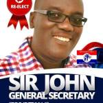 Sir John to contest NPP General Secretary position