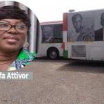 Minister hot over Gh¢3.6m bus branding