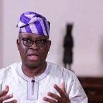 Name the 55 that stole N1.34trn, Fayose tells Lai Mohammed