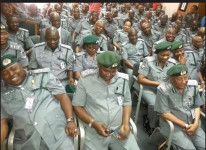 File Photo: Senior Customs officers
