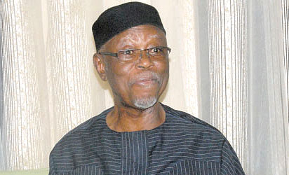 Chief John Odigie-Oyegun, the National Chairman of the All Progressives Congress (APC)