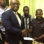 EIB Network visits Amakye Dede at Korle Bu