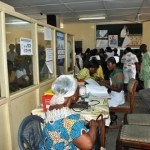 Breakdown of NHIS card registrants for 7 regions