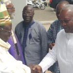 Prez Mahama celebrates Mass With West African Catholic Bishops -Videos +PICS