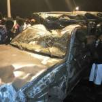One feared dead in multiple car crash in Madina