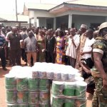 Kintampo disaster: Mahama visits victims; announces Gh¢100,000 support