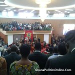Minority sings Kofi Kinaata's 'Confession' as Akufo-Addo delivers SONA