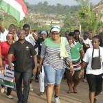 Aspiring NDC'S Fanteakwa MP Ms. Abigail Elorm Mensah Mobilizes Votes Through Health Walk