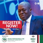YOUNG PROFESSIONALS WISH VEEP H.E. AMISSAH ARTHUR 64TH BIRTHDAY