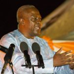 President Mahama Assures People Of Dambai