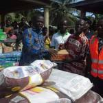 Member Of Parliament For Ellembelle Constituency Donates To Tidal Wave Victims