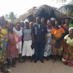 Member Of Parliament For Ellembelle Constituency Donates To Fish Mongers