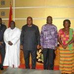 President Mahama Swears In Civil Service Council