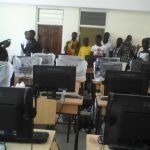 Students of Gwiraman SHS complain about poor network infrastructure leading to inability to access t...