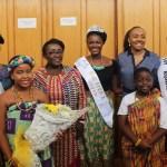 Minister Dzifa Gomashie Congratulates Rebecca Asamoah For Winning Miss Africa