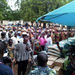 Navrongo: Over 1,000 hungry widows get food aid