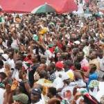NDC members embark on 'Free Mugabe and co' march