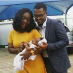 Van Vicker shares pic of his new born baby with Jackie Appiah