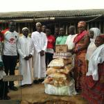 ABIGAIL ELORM MENSAH DONATES TO MOSQUES IN FANTEAKWA SOUTH