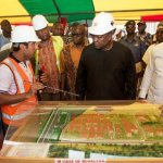 Pictures -President Mahama in Wa on two day 'Accounting to The People Tour'