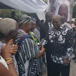 Pictures -Final funeral  Rites For President's Late Mum, Hajia Abiba Nneba