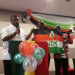 NDC CHINA CHAPTER LAUNCHES CAMPAIGN FOR THE  NOVEMBER GENERAL ELECTIONS