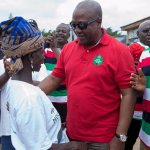 NPP Contributed To The Overthrow Of Nkrumah...Reject Them And Retain Me – Prez Mahama To Western Reg...