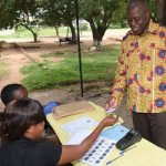 Amissah-Arthur verifies name in voters' register