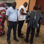 NDC executives visit Montie 3 at Nsawam Prison
