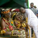 Mahama celebrates Apenorto festival with residents of Mepe