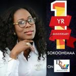 Sokoohemaa celebrates first anniversary on Rainbow Radio