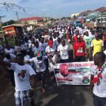HON. BREMPONG SHAKES AYAWASO WEST WOUGON WITH A MASSIVE HEALTHY WALK