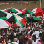Heavy rains stall activities at NDC Manifesto launch