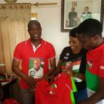 Young Professionals donates Party T-Shirts to support Hon.Alhaji Sorogho