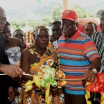 Veep Amissah-Arthur opens new ultra modern office complex at Bosome Freho district