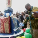 President Mahama commissions Western Diamond Cement