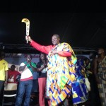 New Juaben chiefs 'arm' Mahama with a sword