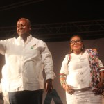 John Mahama falls in love again with 'new' Lordina Mahama