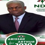 Amissah-Arthur for President posters out