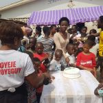 Ohemaa woyeje donates to three orphanages on birthday