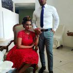 Pics-Van Vicker & Juliet Ibrahim Shooting 1st 2017 Movie In Liberia