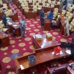 WATCH: Fracas in Parliament over Ghartey Committee's report