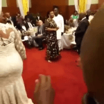 Rebecca And Akufo-Addo's First Dance (Video)