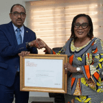 UNAIDS honours Mrs Mahama for excellent leadership as President of OAFLA
