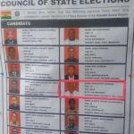 Nii Kotei Dzani represents Greater Accra