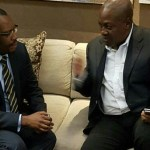 Former President John Mahama lands In South Africa