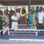 Dzifa Gomashie supports Ketu South Municipal Hospital