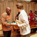 Akufo-Addo meets Princess Anne at Flagstaff House