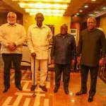 Ghana's ex-presidents met for a chat to discuss the future (Video)